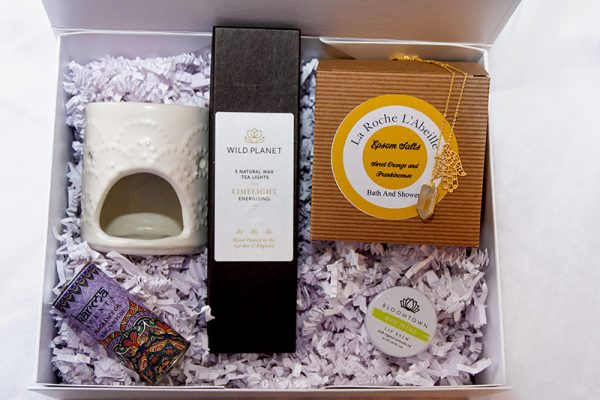 Rock Box gift box delivered