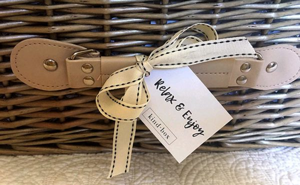 bespoke Hamper and tag